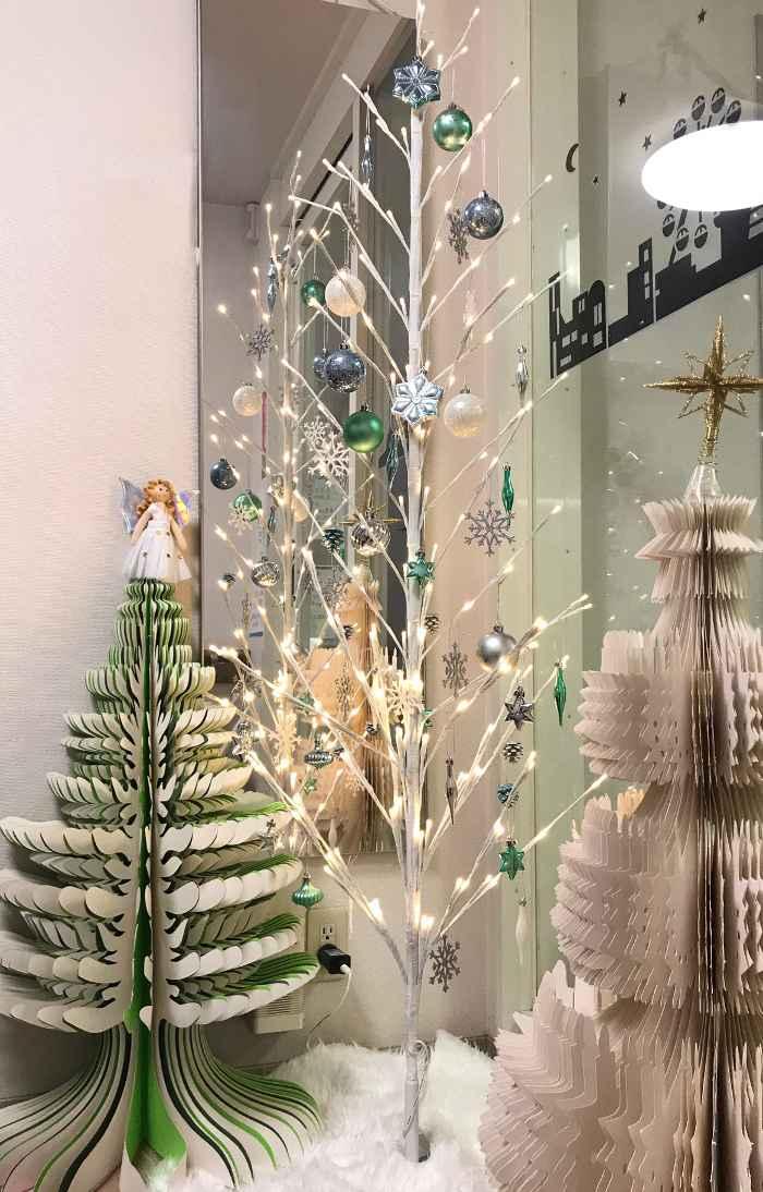 平成30年12月玄関クリスマスツリー