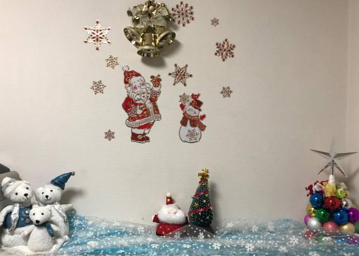 平成30年クリスマス玄関